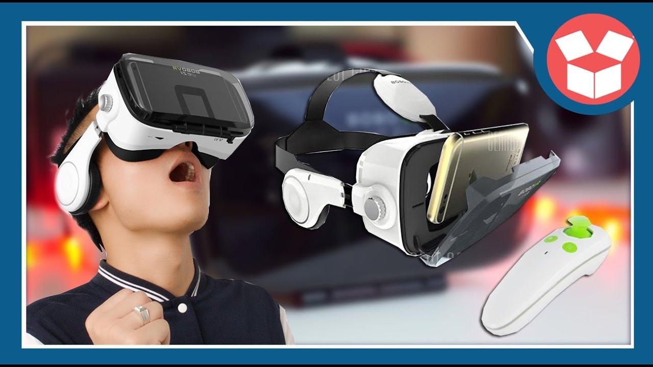 Xiaozhai BOBOVR Z4 - O MELHOR ÓCULOS VR PARA ANDROID IOS - REVIEW UNBOXING  - Gearbest Unboxing 6443f71552