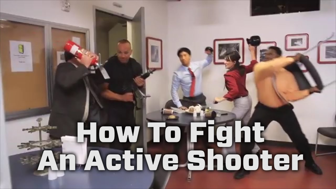 homeland security active shooter how to respond video