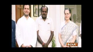 HD Kumaraswamy oath taking ceremony today, Kejriwal, Rahul and others to attend the event