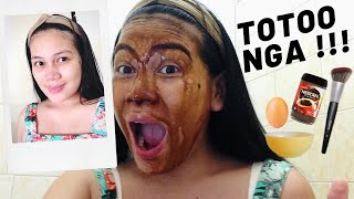 diy egg and coffee facemask | super effective and affordable