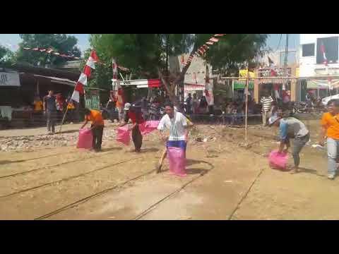 Bhacank Lomba Balap Karung Kocak
