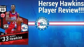 Nba2k17 Wingman Hersey Hawkins Player Review!!!