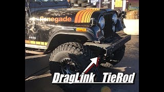 DOES YOUR JEEP DRIVE LIKE A BOAT????? The Best Drag Link & Tie Rod Kit for a CJ-YJ. (CJ-7 update)