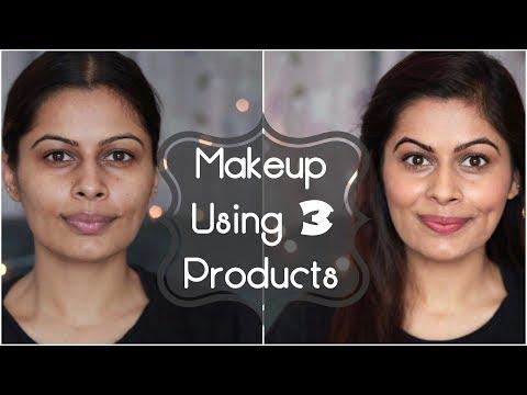 Everyday Office/Work/College Makeup Using 3 Products | No Makeup Look | 2 Minutes Makeup | Kavya K