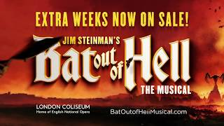 EXTRA WEEKS NOW ONSALE | Bat Out of Hell (the Musical)