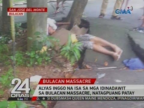 24 Oras: Alyas Inggo na isa sa mga idinadawit sa Bulacan massacre, natagpuang patay