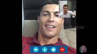 Ronaldo and messi video call in nepali