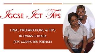 IGCSE ICT PAPER 3 EXAM TIPS BY EVANS CHIKASA