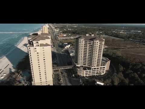 DJI PHANTOM 4 Panama City Beach Aerial Footage !!!