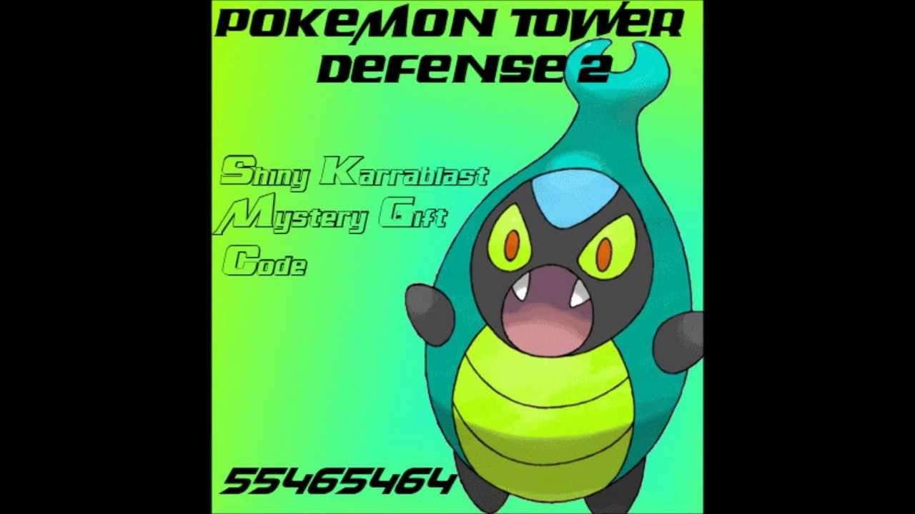 Pokemon center ptd 2 trading center - Pokemon Tower Defense 2 Shiny Karrablast Mystery Gift Hd