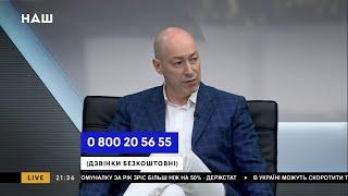 Гордон о том, как Порошенко пообещал деньги Виктюку и о продаже сериалов «95 квартала» каналам РФ