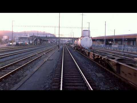 ★ 4K Cab ride Stein-Säckingen - Basel RB - Basel SBB, Switzerland [2018]