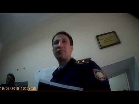 Участковый у канцелярии Адм.суда, занимается допиской в адм.протоколе и сам ставит исходящие номера