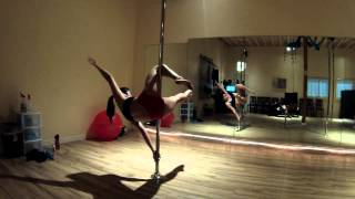 Pole combo-Butterfly, Flat Line Scorpio, Jasmine