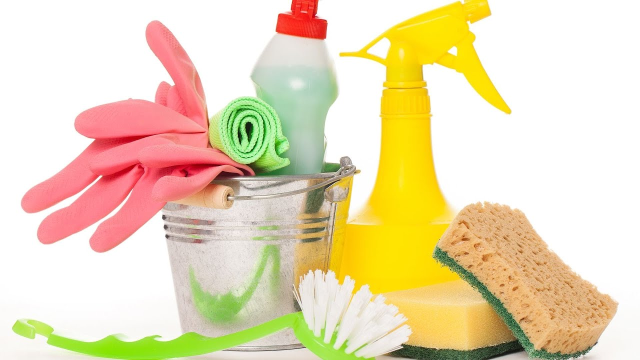 Top 5 Green Cleaning Supplies Green Living Youtube
