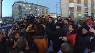 Открытие штаба А. Навального в Томске, ч.4 (Навальный и мы на улице, полиция снова прогоняет)