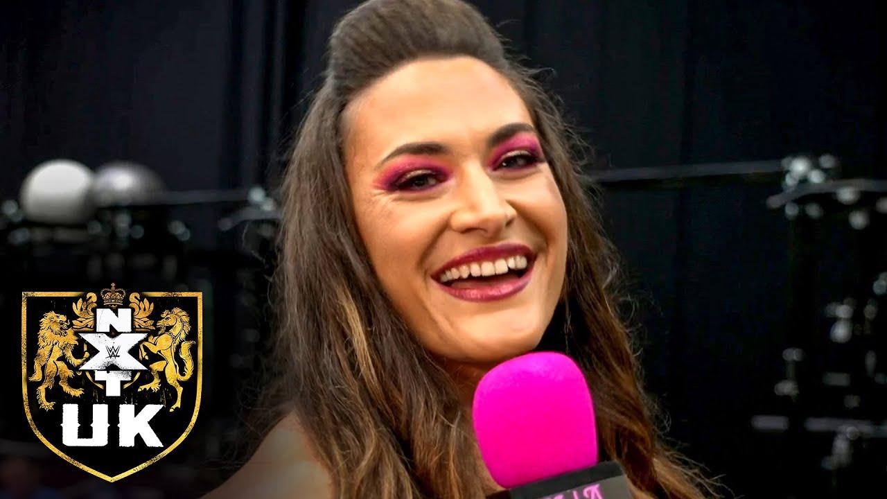 """Xia Brookside proposes facing Aleah James during """"The Nina Samuels Show"""": NXT UK, Oct. 14, 2021"""