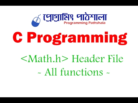 Math Functions in C Programming
