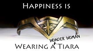 How to Make a Wonder Woman Tiara from Worbla. Making Wonder Woman Part 5