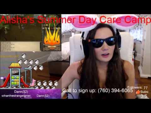 Alisha12287 Spam Kappa In The Chat!