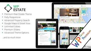 WpEstate Wordpress Theme Review & Demo | Real Estate WordPress Theme | WpEstate Price & How to Install