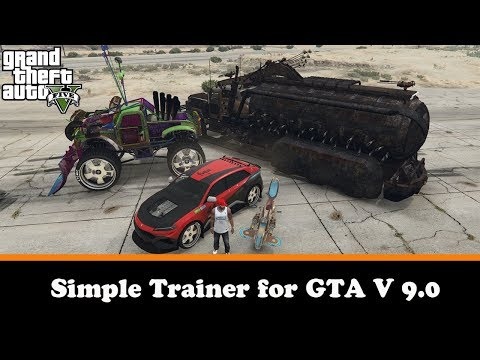 Simple Trainer V 9.0