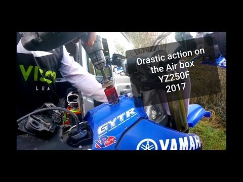HOW TO MODIFY & SET UP YOUR YZ250F 2017