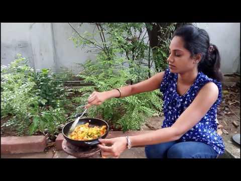 Vijaya Foods: purslane leaves with tomato curry very tasty/gangavalli kura - Vijaya Foods