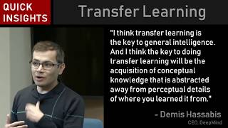 Demis Hassabis: Transfer learning is key to AGI