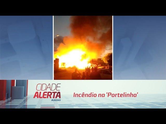 Incêndio na 'Portelinha': Famílias ainda não têm  pra onde ir