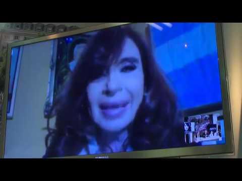 Cristina denunció campaña propagandística y pidió la libertad de Milagro Sala