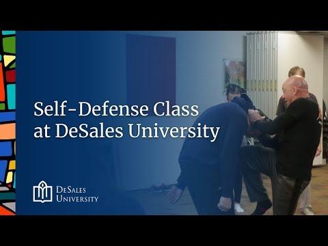 Self-Defense Class at DeSales University