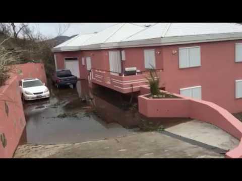 Flooding in ST THOMAS - Hurricane Irma