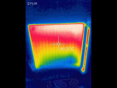 Thermal video of radiator heat up top down youtube for Thermal watches