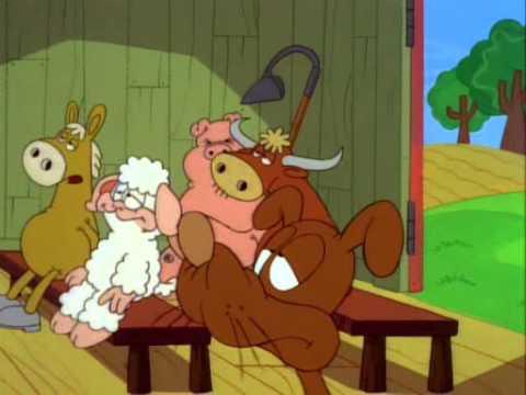 youtube filmek - Garfield és barátai-5x09-A hasbeszélő-Hej ráérünk arra még-Ugró Jon.avi