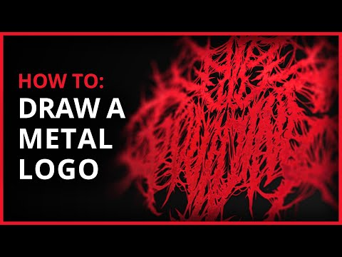 Time Lapse: Creating A Death Metal/Deathcore Logo (2014)