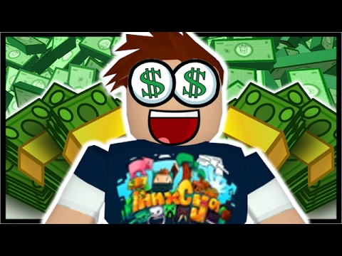 100 000 Robux In Roblox Roblox Bank Tycoon Youtube