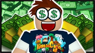 $100,000 ROBUX IN ROBLOX!! | Roblox Bank Tycoon
