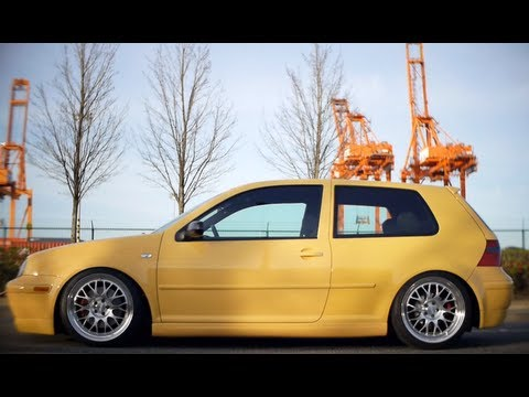 Ryan's Slammed 20th Edition Mk4 GTI - YouTube