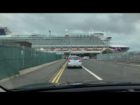 Car Park At Southampton Docks For Our Cruise On P&O Cruise Ship Azura