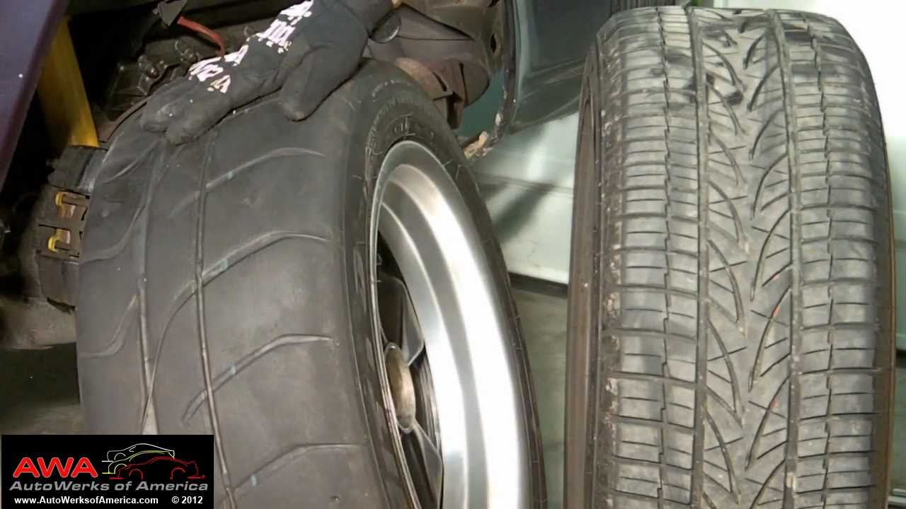 Street Tires Track Tires - What's the difference?