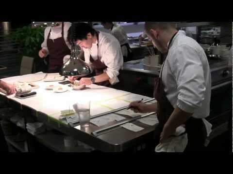 Service at Corey Lee's 2 Michelin Benu