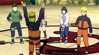 Video Mecha Naruto Kyuubi mode unleashed - Naruto and Hinata worried - Storm Revolution Game download MP3, 3GP, MP4, WEBM, AVI, FLV Februari 2018