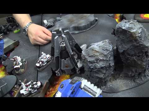 Warhammer 40k Batrep, TBMC, 1500pts White Scars vs Ultra Marines, Battle Report