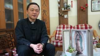 道生會張彌克執事2017-5-20晉鐸/晉鐸前接受公教報訪問