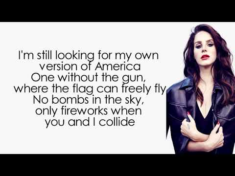 Lana Del Rey - Looking For America (Lyrics | Lyric Video)