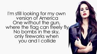 Lana Del Rey - Looking For America (Lyrics | Lyric Video)