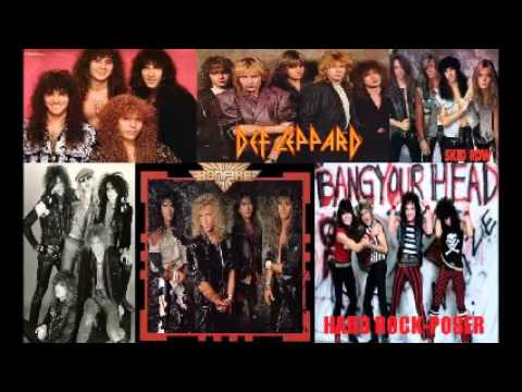 Hard Rock-Poser Playlist