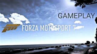 FORZA MOTORSPORT 7 GAMEPLAY XBOX ONE!!!MERCEDES-BENZ TRUCK RACE!!!!