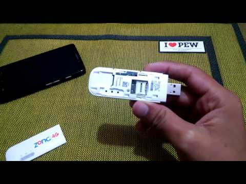 How to insert a sim in Zong 3G or 4G MMB Device or Dongle or Wingle
